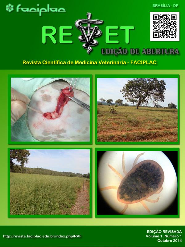 Capa da 1ª Edição da REVET - FACIPLAC